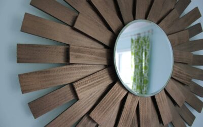 Decorating on the Cheap: Mid-Century Modern Mirror