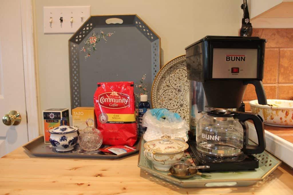 Life Full and Frugal/Antique Dresser Coffee Bar