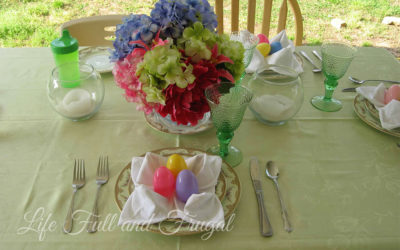 The Art of Napkin Folding - Life Full and Frugal