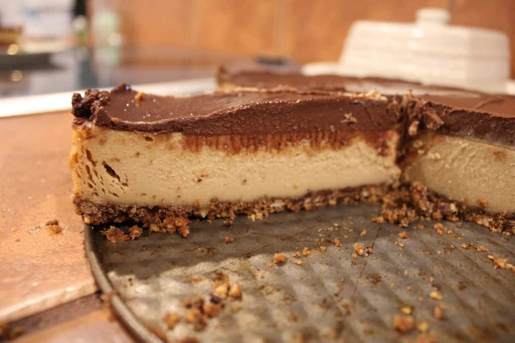chocolate peanut butter cheesecake life full and frugal