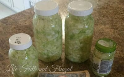 Simple Sauerkraut - Life Full and Frugal