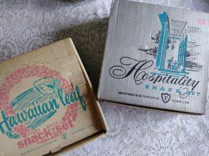 Vintage snack sets