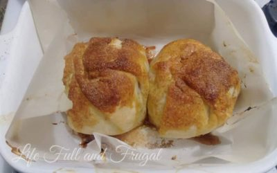 Fresh Apple Dumplings