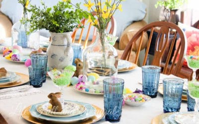 A Sweet Easter Table Setting