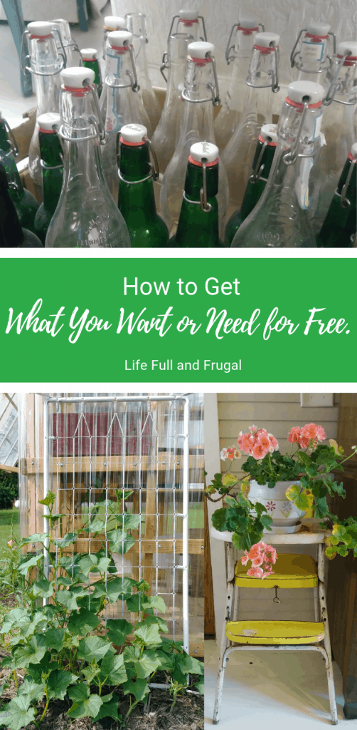 How to get what you want or need for free life full and frugal