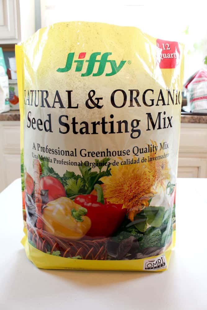 simple steps to startings seeds indoors life full and frugal starter soil