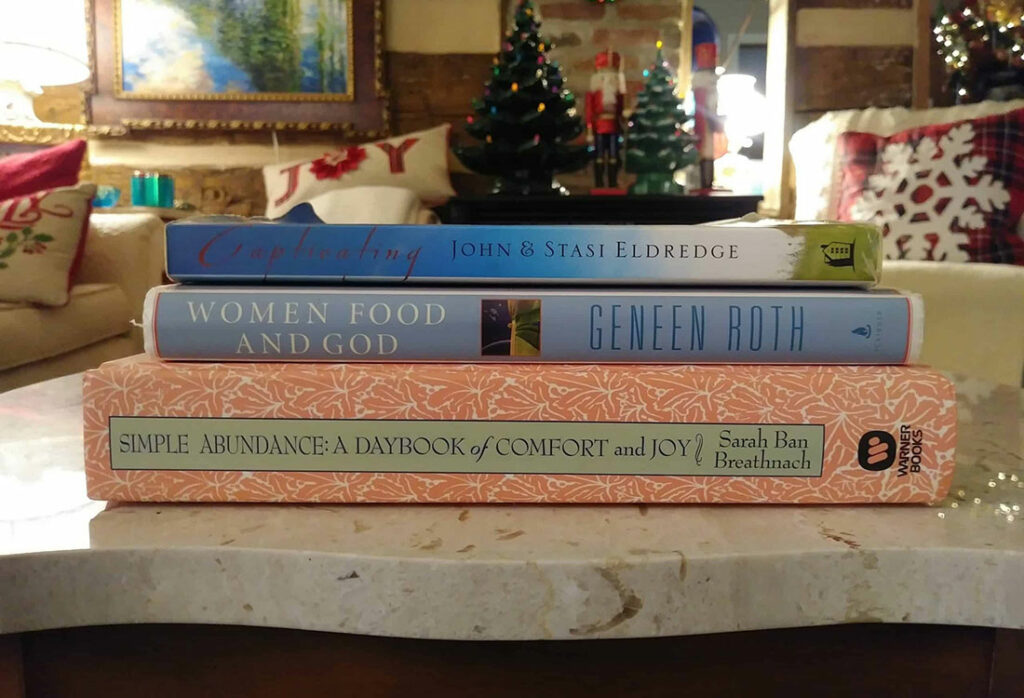 captivating women food and god simple abundance books life full and frugal