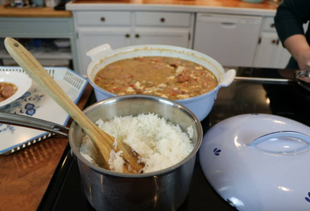 Chicken and Sausage Gumbo - Life Full and Frugal