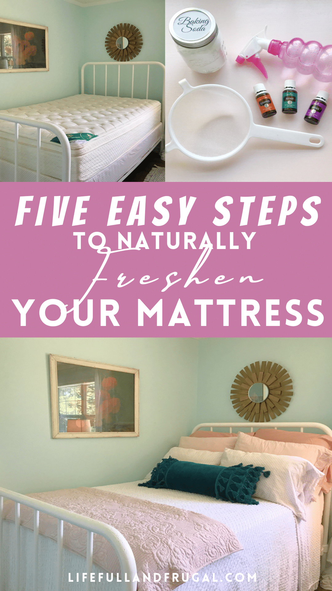 How to naturally freshen a mattress life full and frugal pin