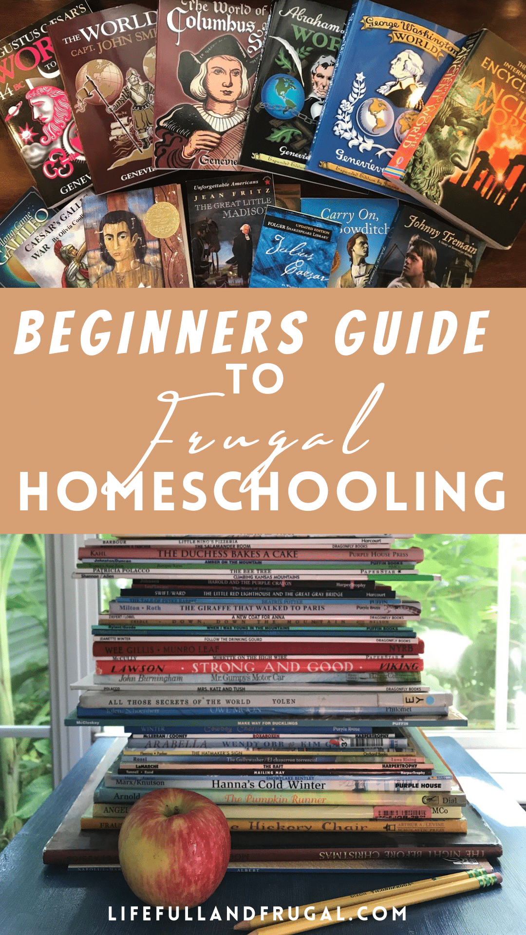 beginners guide to frugal homeschooling pin life full and frugal