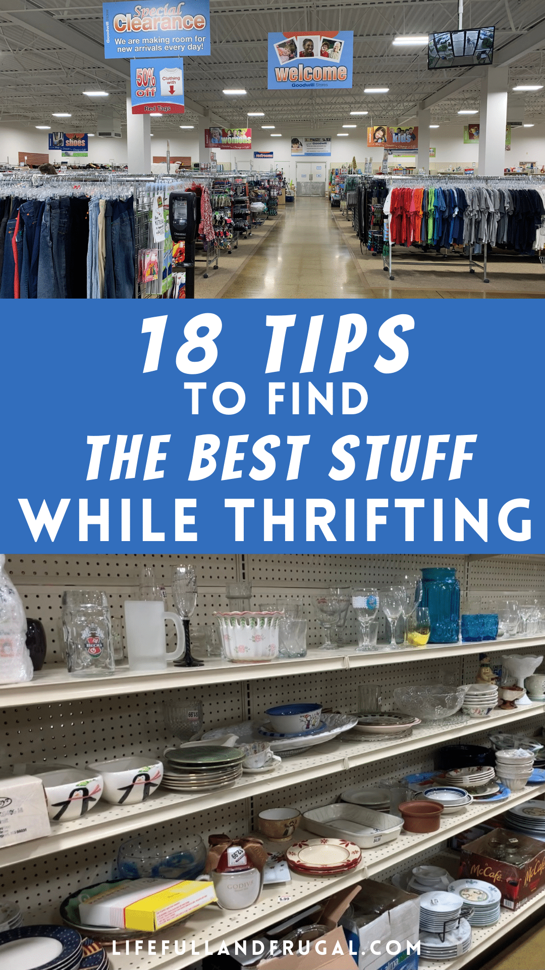 18 tips to find the best stuff while thrifting Pinterest