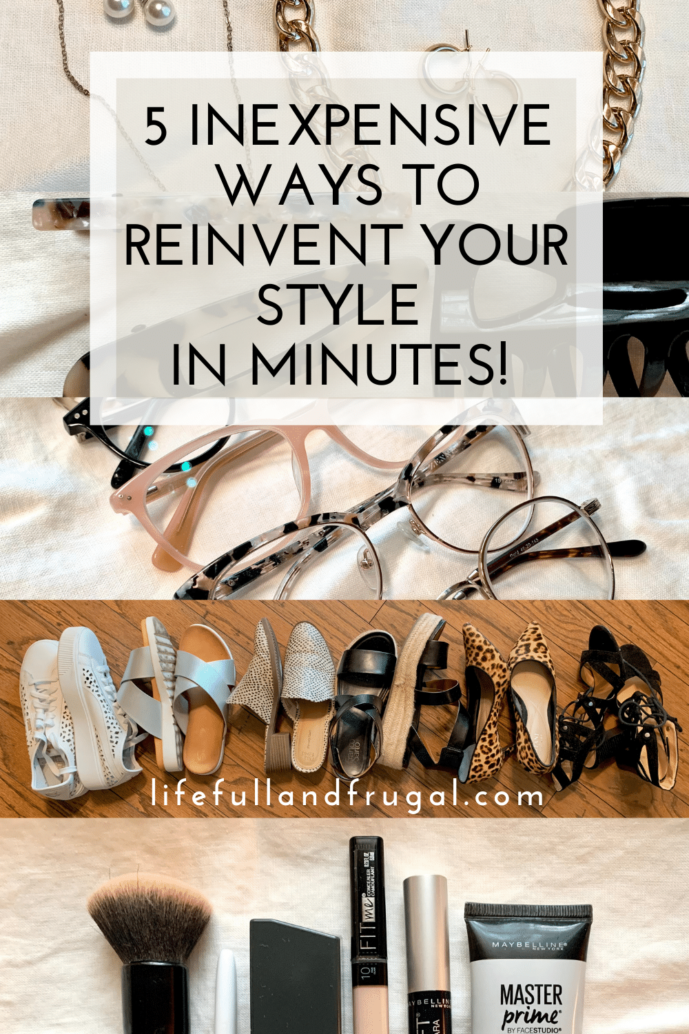 5 inexpensive ways to reinvent your style in minutes life full and frugal Pinterest