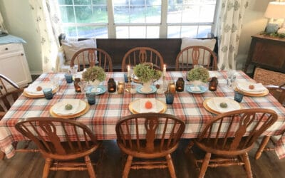 Creating Frugal Eclectic Fall Decor