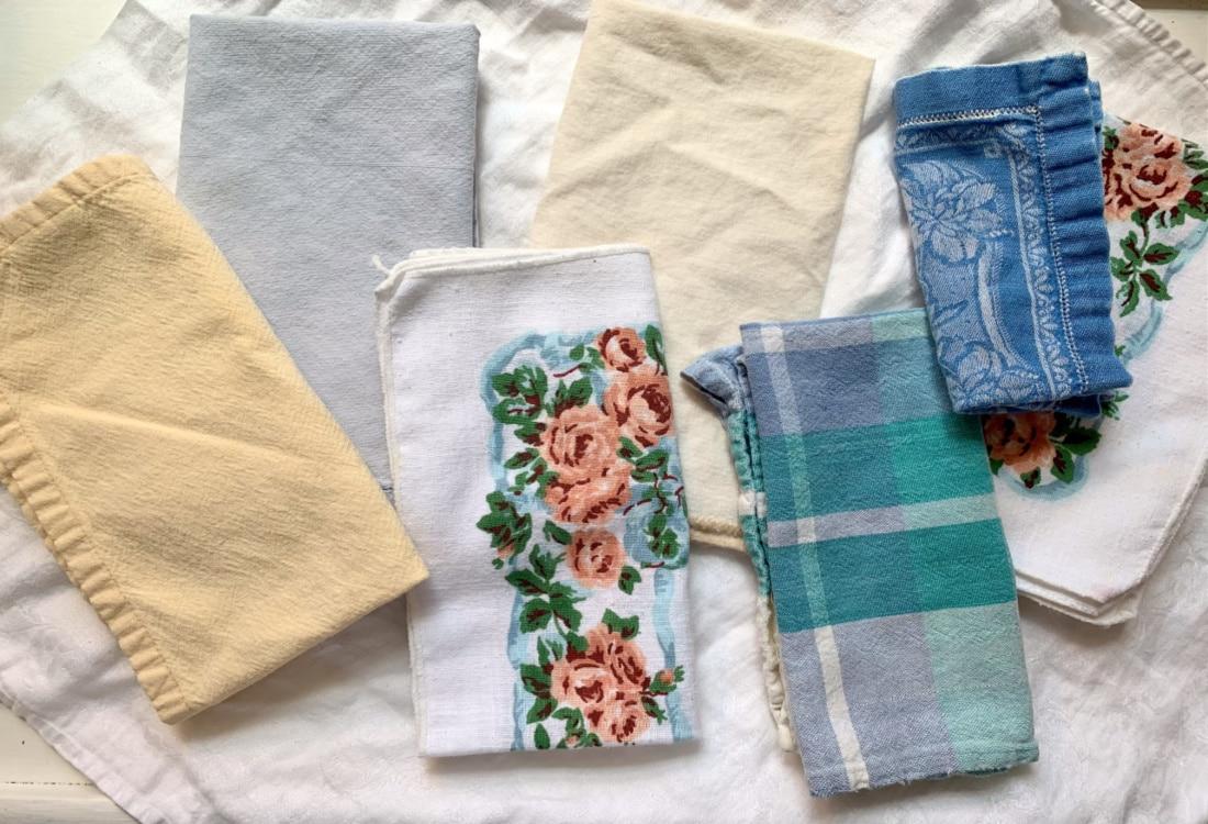 colorful cloth napkins hygge home