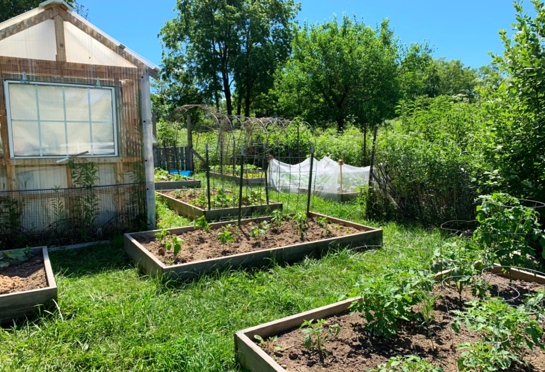 a garden and greenhouse life full and frugal