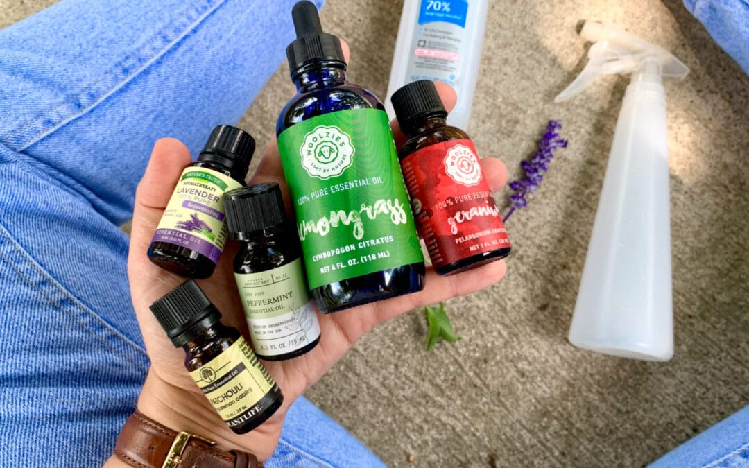 DIY Mosquito and Bug Repellent Spray with Essential Oils