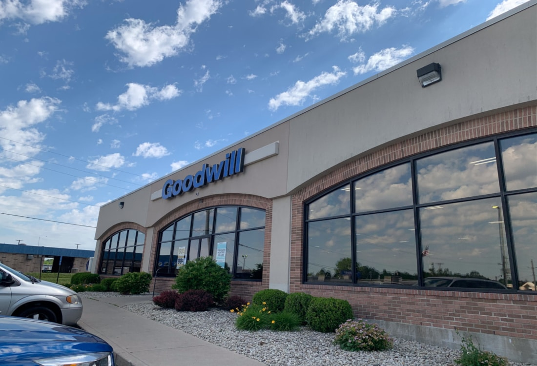 a goodwill store life full and frugal
