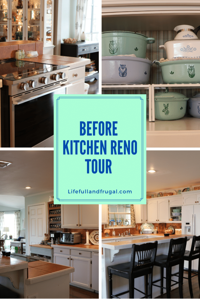 before kitchen reno tour Pinterest life full and frugal