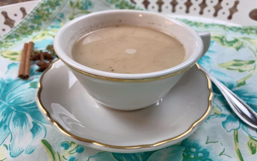 Make Ahead Spiced Chai Tea Latte