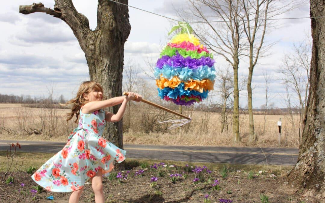 How to Make an Easter Egg Piñata