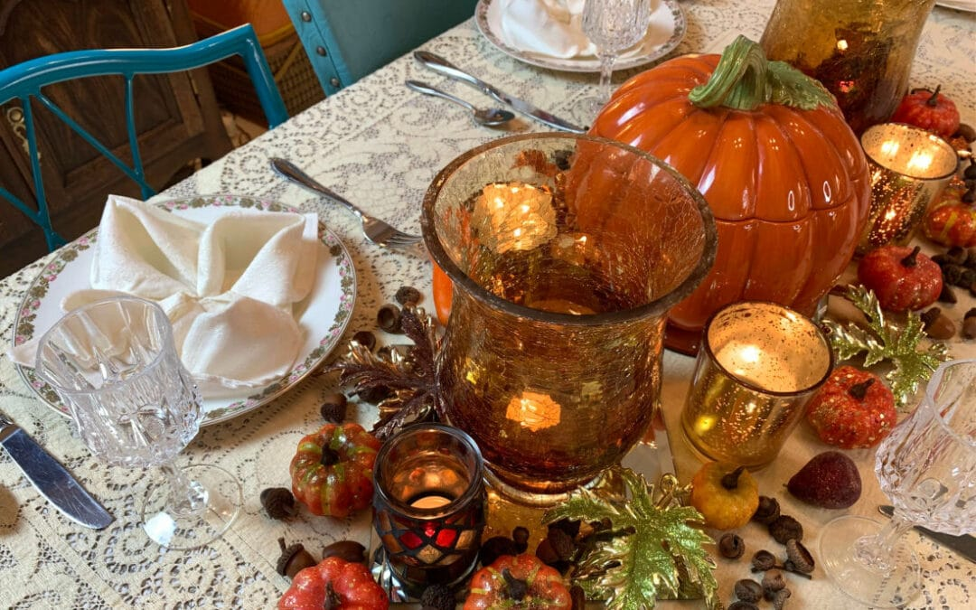 Fall Tablescape on a Budget