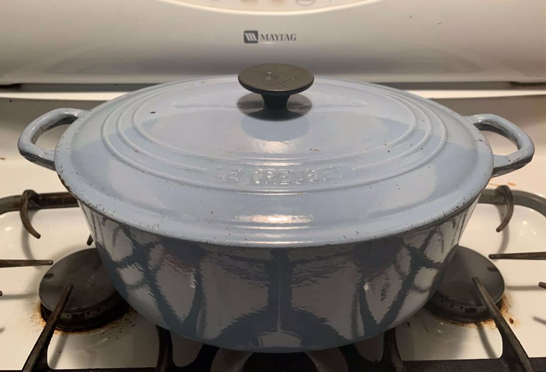 simple whole roast chicken blue le creuset life full and frugal