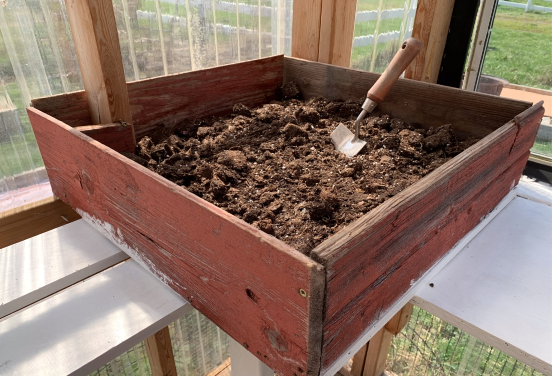 soil box our greenhouse made from recycled materials life full and frugal